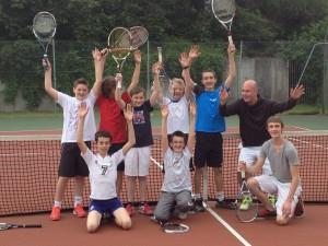 école de tennis 2013