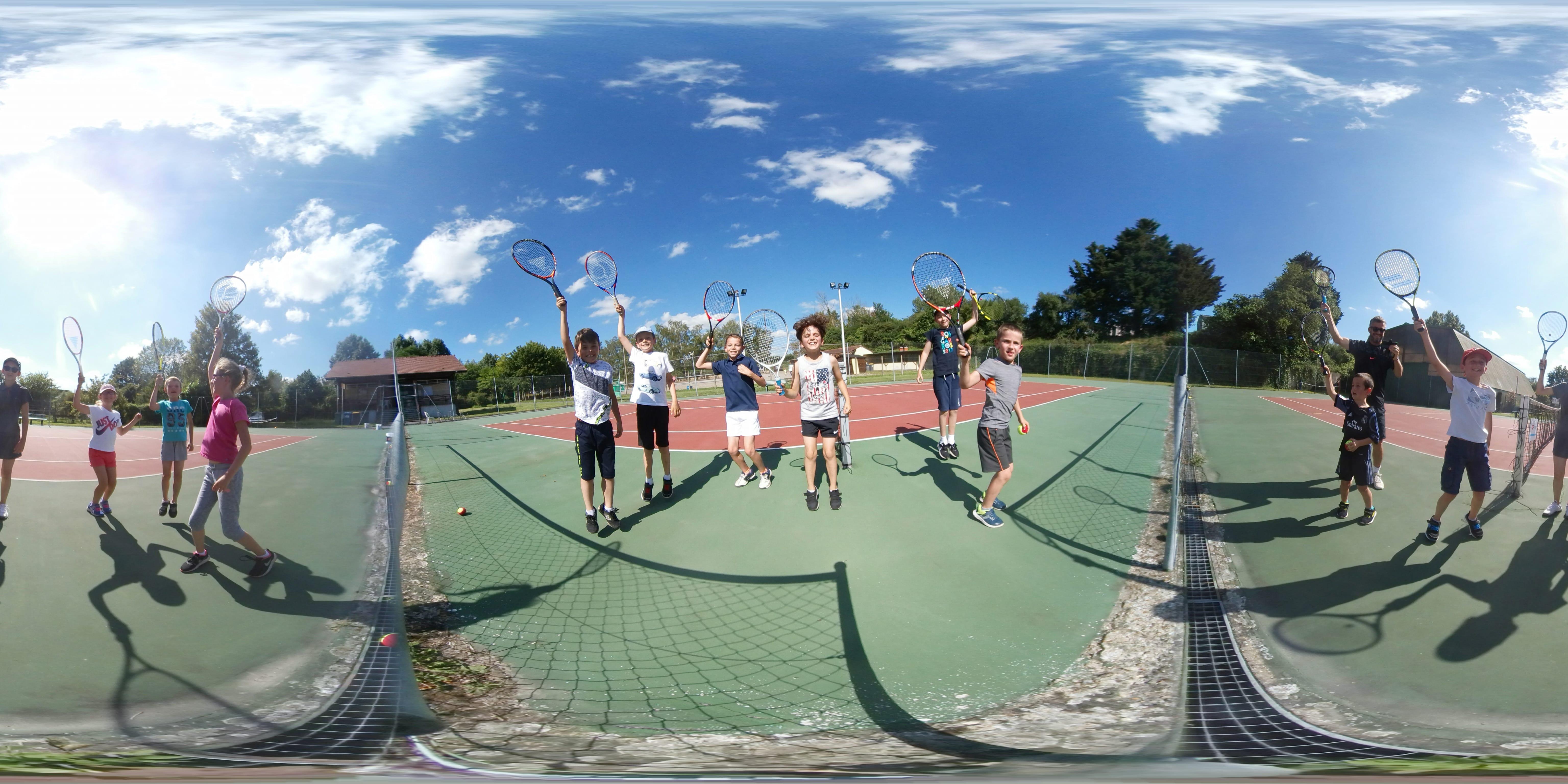 Ecole de tennis 2018